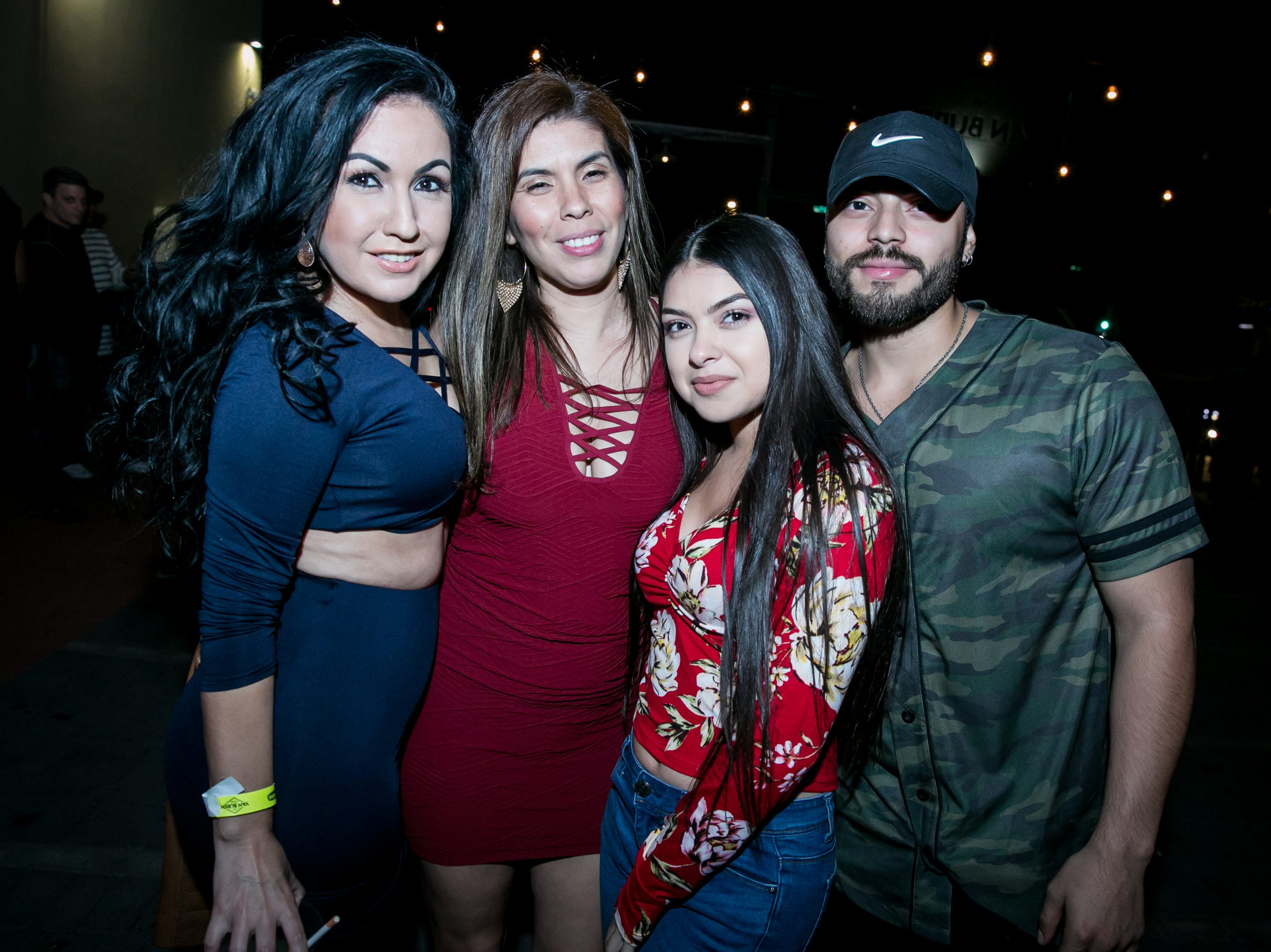 These friends danced the night away during Old School - 90's Hip Hop Dance Party at The Van Buren on Friday, November 30, 2018.