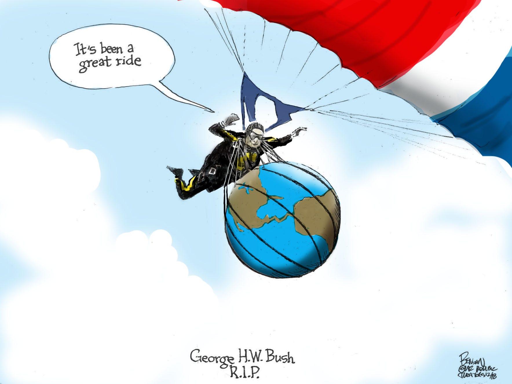 Cartoon for Dec. 3, 2018.