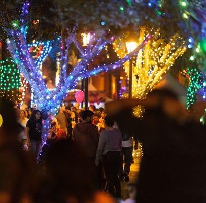 Los mejores espectáculos de luces navideñas en el área metropolitana de Phoenix