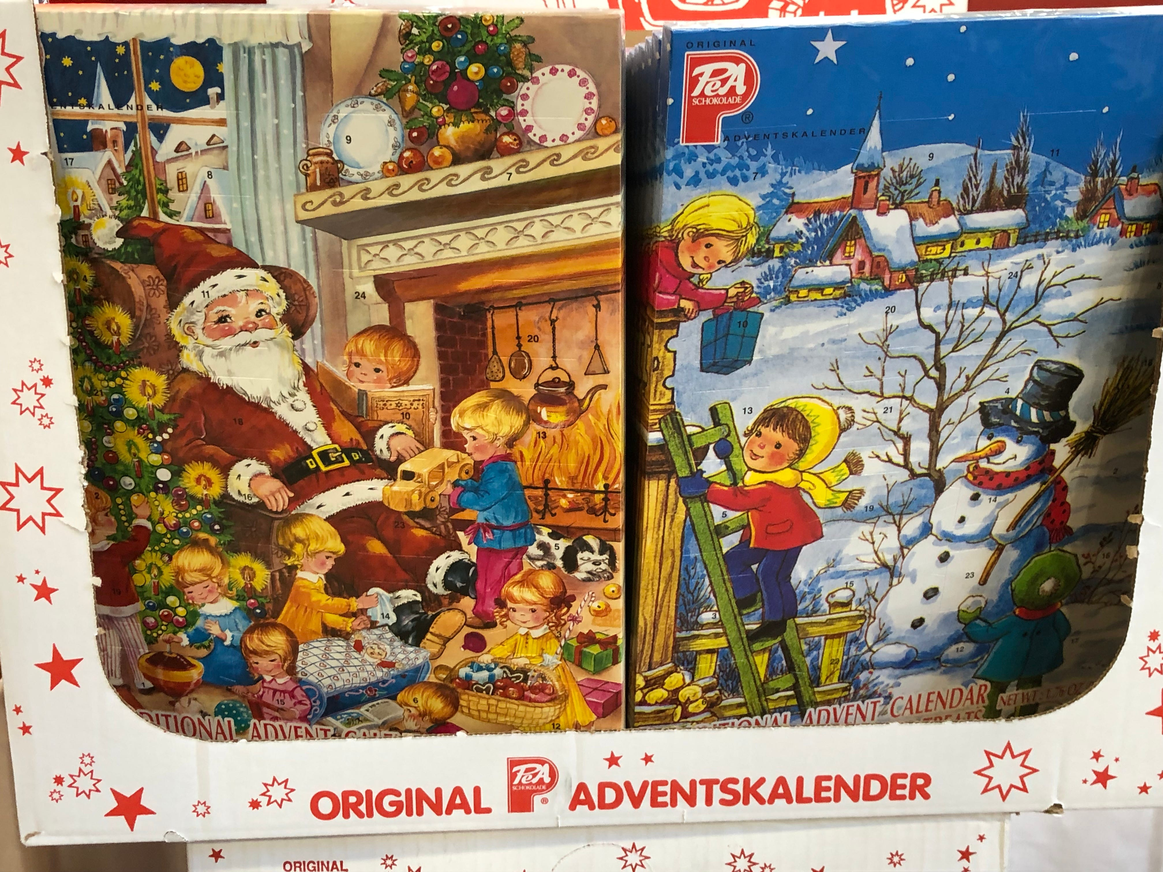 Advent calendars are still around, and they're a fun way to satisfy your sweet tooth every day while simultaneously not overdoing it.