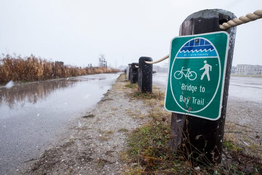 The county has hired two consultants to look at filling the gaps in the Bridge-to-Bay Trail, Great Lakes to Lake Trail and the Wadhams-to-Avoca trail.