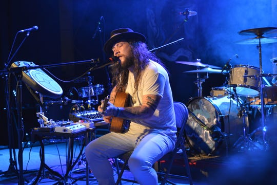 Mihali Savoulidis, who goes by Mihali, of the band Twiddle.