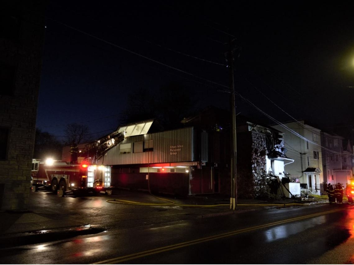 Fire units responded to a structure fire in the City of Poughkeepsie at approximately 1:48 a.m.