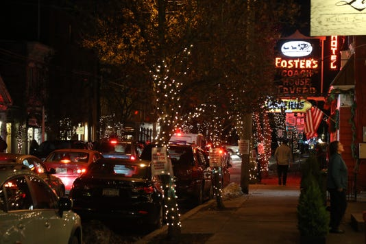 Holiday Lights - Rhinebeck
