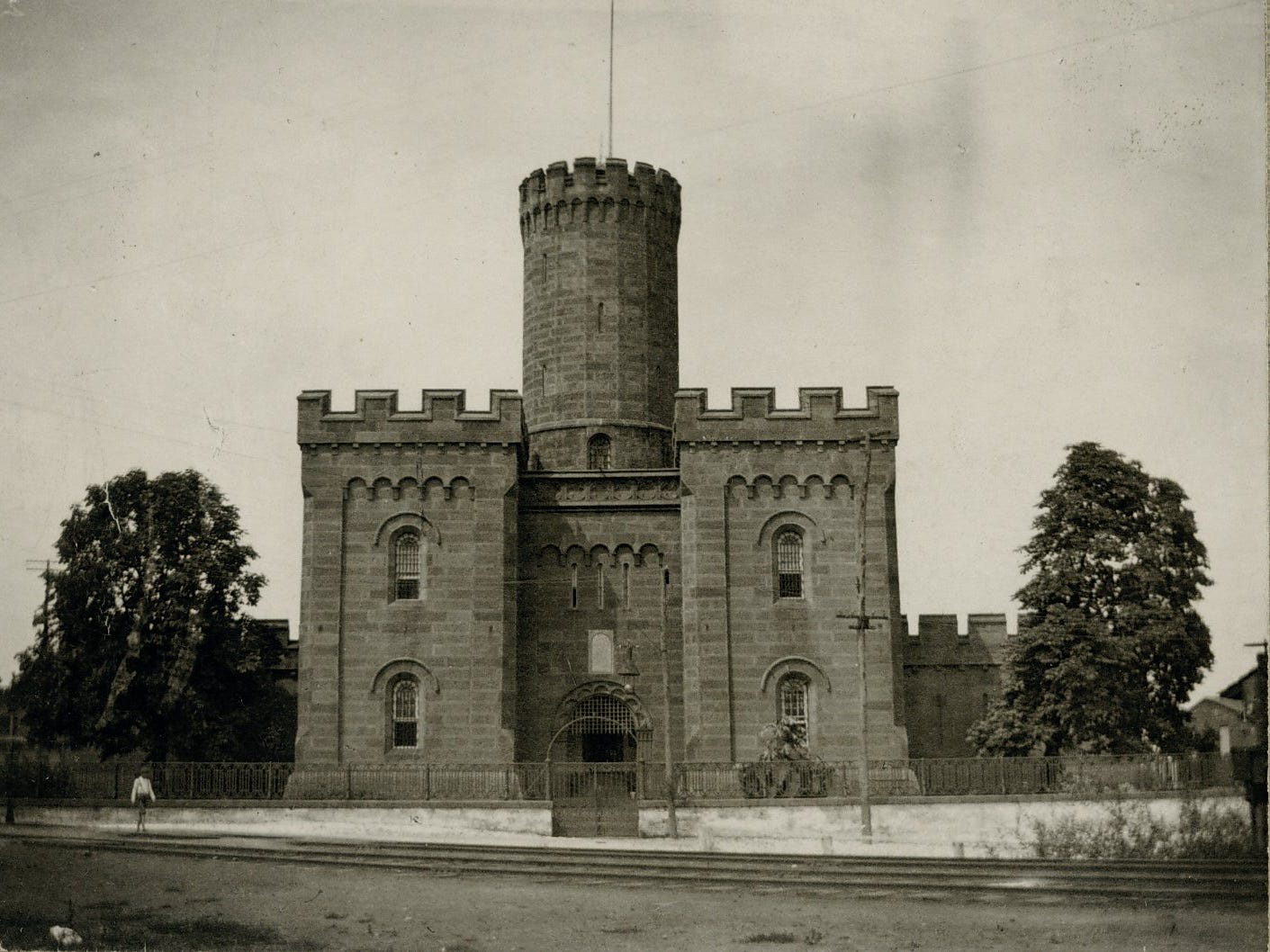 York County Prison 1860. photo courtesy of York County History Center