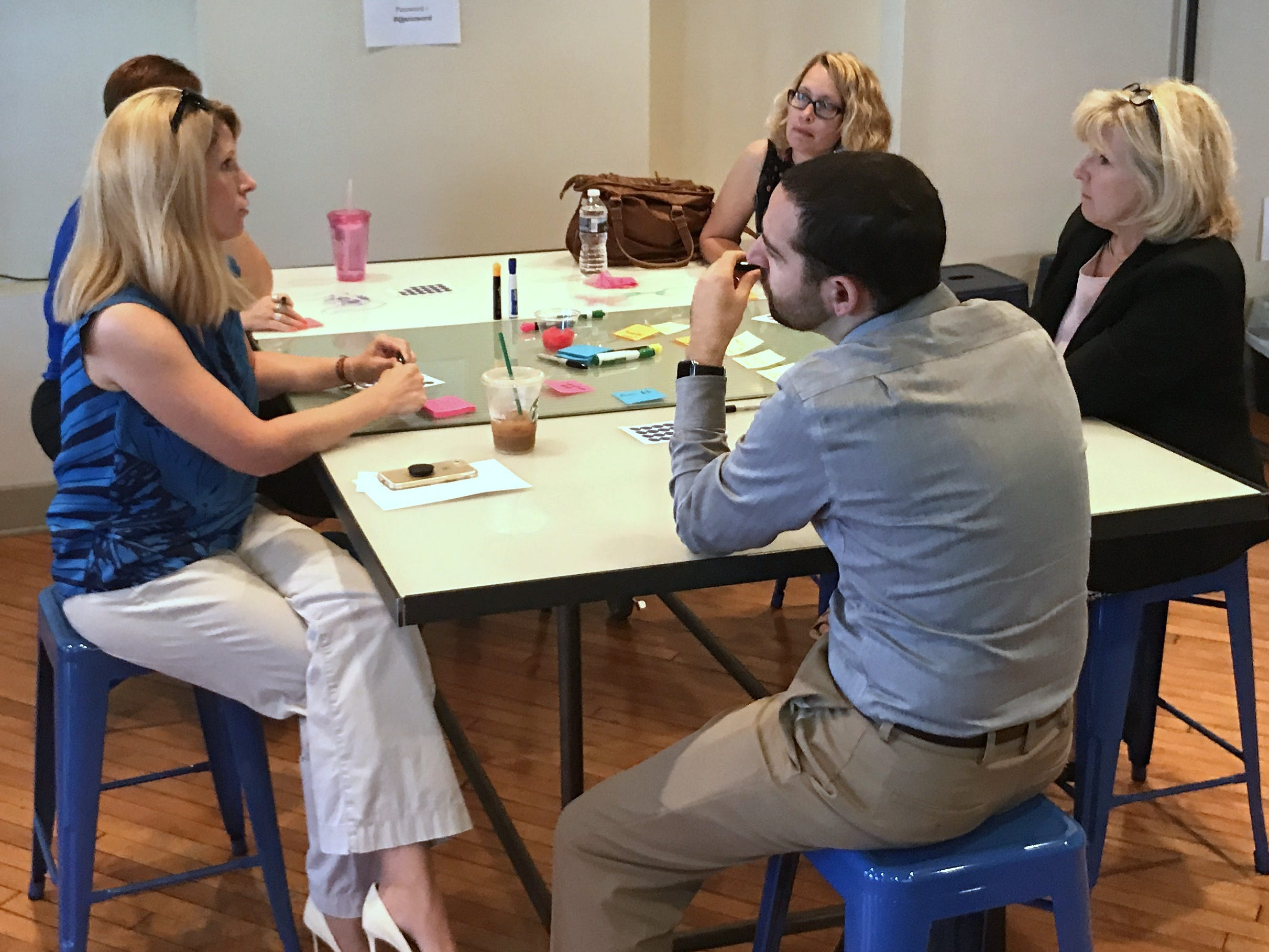 Cultural Alliance funded partners and community members participate in an ideation session. Leading up to its 20th Anniversary, the Cultural Alliance wants to understand how they can best support and strengthen arts and culture in York County and position the organization for strength and sustainability into the next 20 years. To accomplish this, they have been working with design thinking consultant Erin McGlaughlin of DesignQuake to interview donors, volunteers, funded partners, non-funded partners, and community leaders over the past year to answer the question: how can the Cultural Alliance meet the needs of the York community now and in the years to come? The Alliance is now sharing those findings and inviting the residents of York County to engage in an open dialogue on arts and culture through their online cultural listening project site at www.future-culturalyork.org. submitted