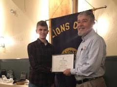 The Red Lion Lions Club is proud to recognize Jack Gulley who was selected as the Red Lion Area Junior High School Student of the Month for September 2018. Pictured below are Jack Gulley and Lion's Club Member Donald Dippner. submitted