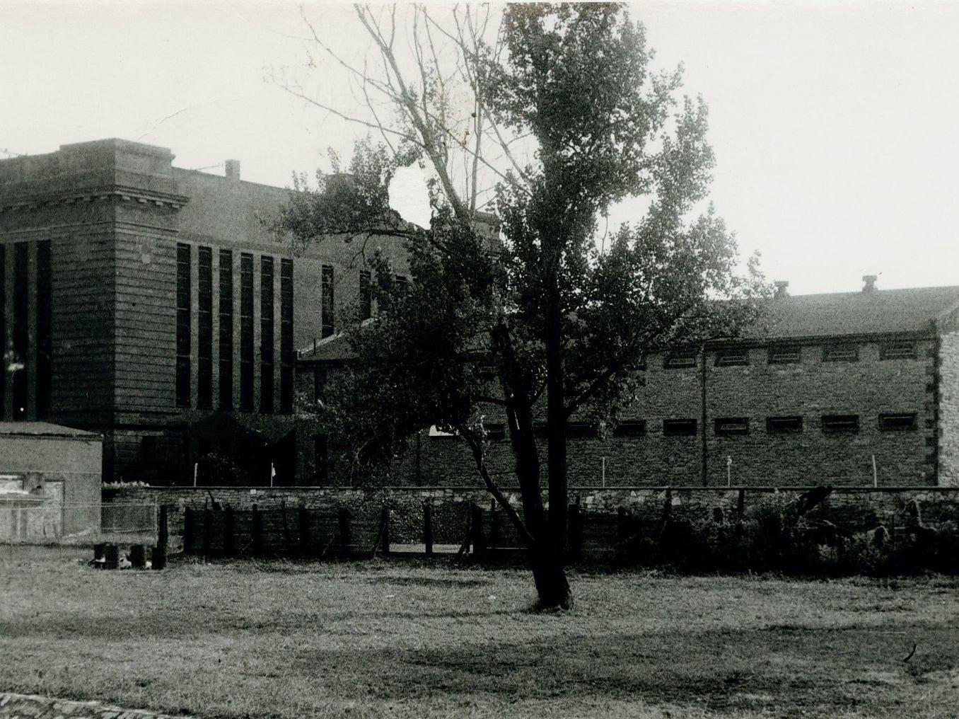 York County Prison 1946. photo courtesy of York County History Center