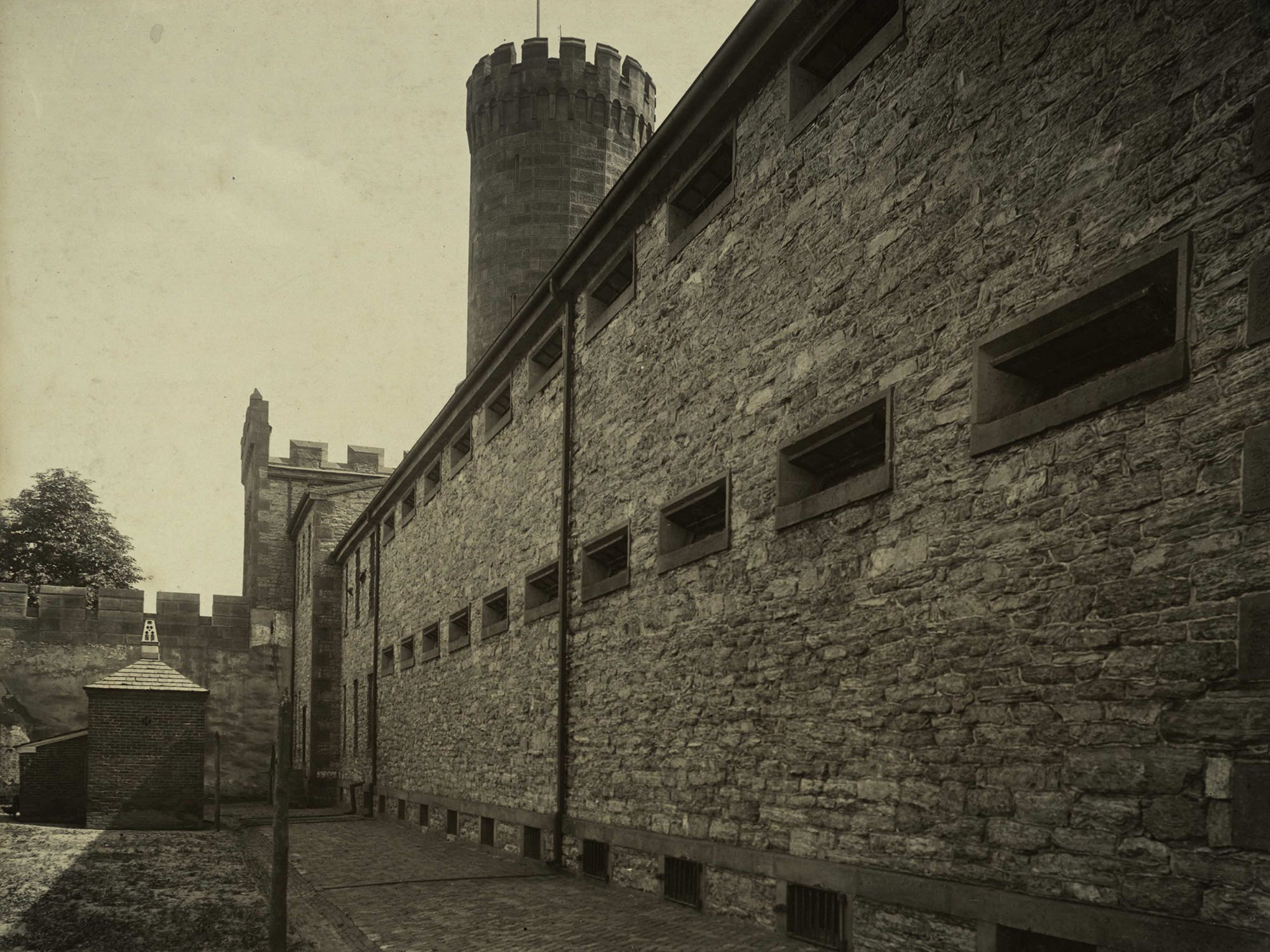 York County Prison 1958. photo courtesy of York County History Center