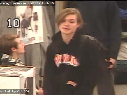 One of the males police hope to identify in a recent Kohl's theft.