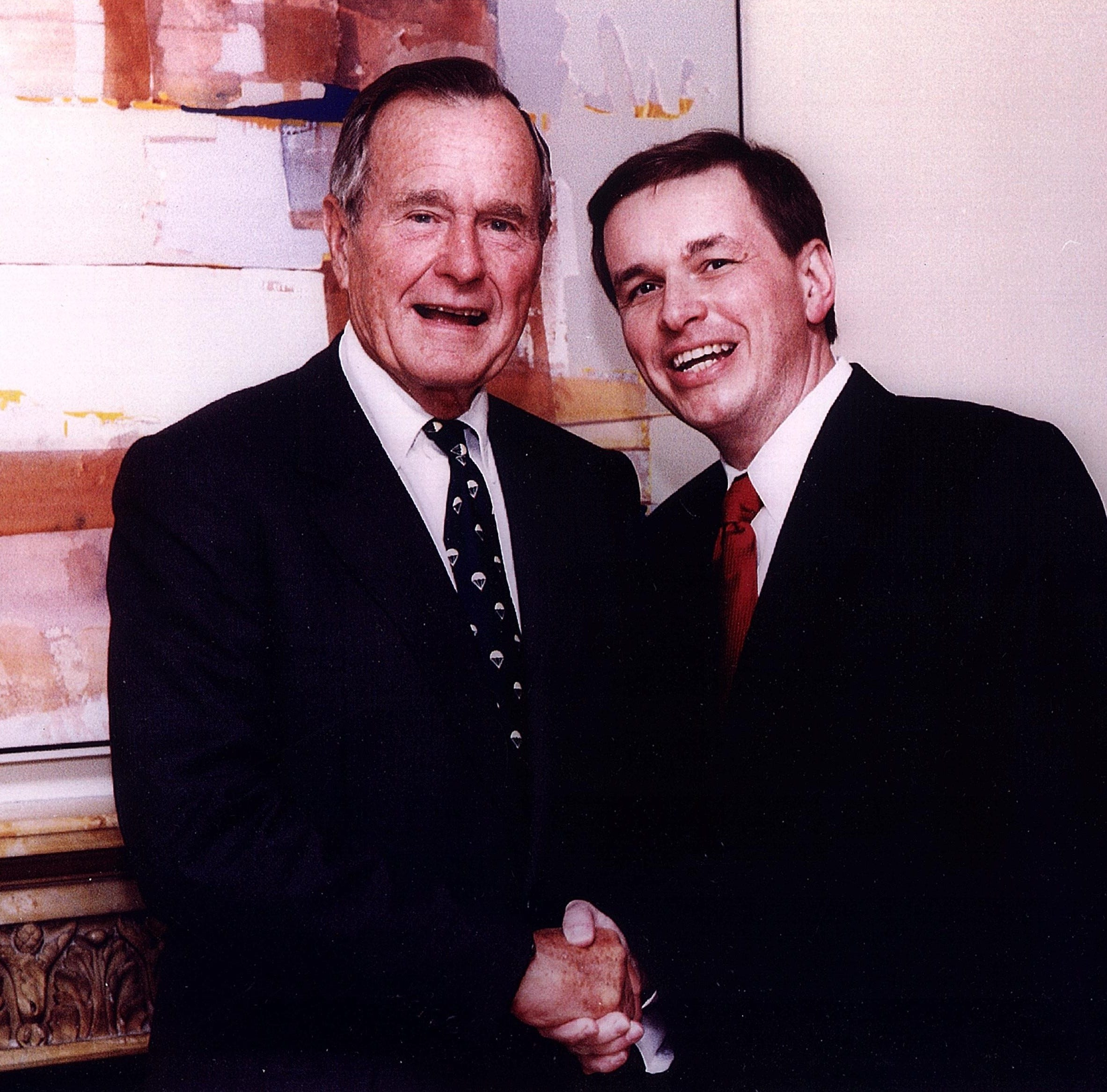 York-based presidential historian shares his interactions with President George H.W. Bush