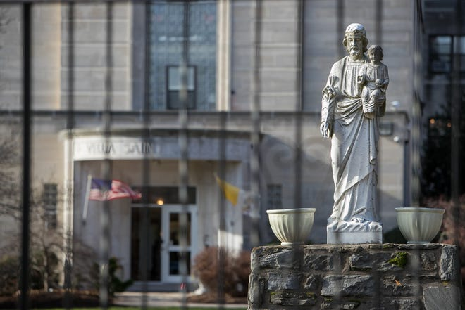 "Villa Saint Joseph in Darby, Pa. is a retirement home for priests in the Philadelphia area owned by the Catholic church, that houses among them 16 predator priests, all under a program known as ""A Life of Prayer and Penance."""