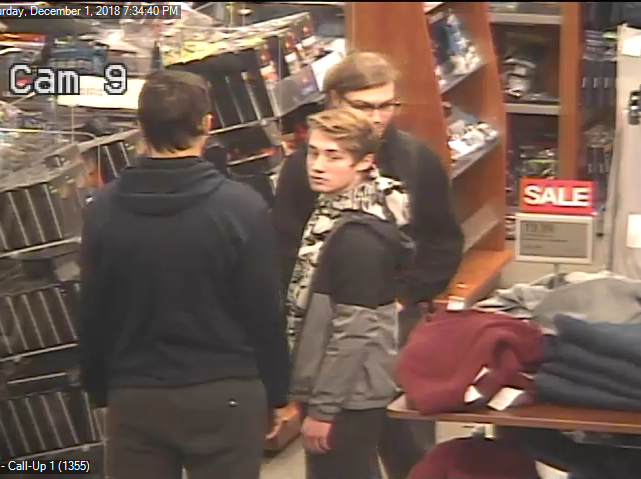 Another of the males police hope to identify in a recent Kohl's theft.