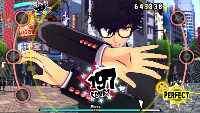"""Persona 5: Dancing in Starlight"" for PlayStation 4."