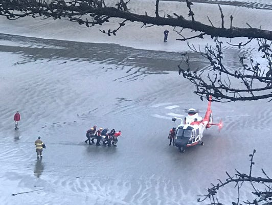 Unconscious Surfer Rescued By Coast Guard Near Newport Oregon