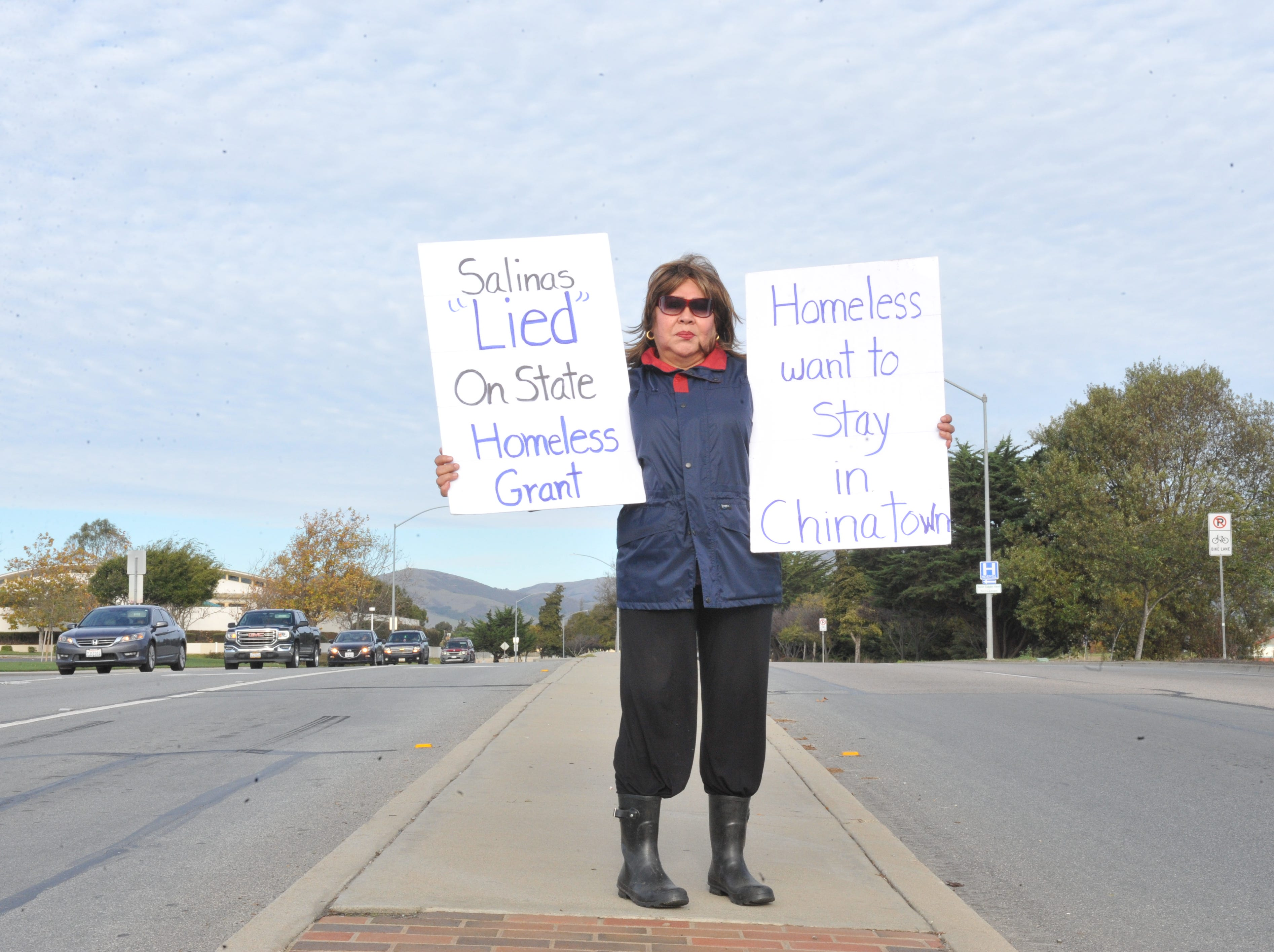 Creekbridge group protests proposed year-round homeless shelter site in Salinas