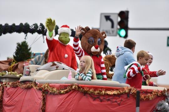 The 28th Annual Salisbury Community Christmas Parade was held on Sunday, Dec. 2, 2018.