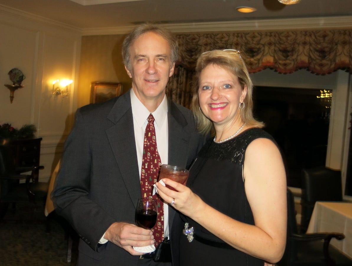 Shreveport Medical Society Installation Dinner Dance was Nov. 30 at Shreveport Club.