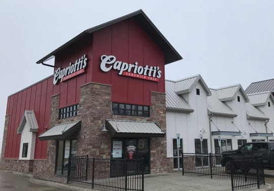 Capriotti's Sandwich Shop at 2504 S. Marion Rd. in the Lake Lorraine development in Sioux Falls.