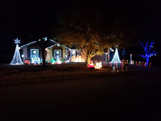Jonathan Gugel, 4739 W. La Siesta St., Springfield - Where Are The Best Christmas Lights Displays In The Ozarks?