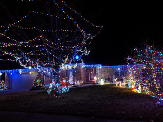 Dee O'Dell, 1120 W. Red Oak St., Springfield - Where Are The Best Christmas Lights Displays In The Ozarks?