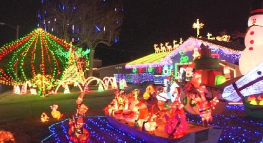 Mike Bagwell, 2008 E. Cambridge St., Springfield - Where Are The Best Christmas Lights Displays In The Ozarks?