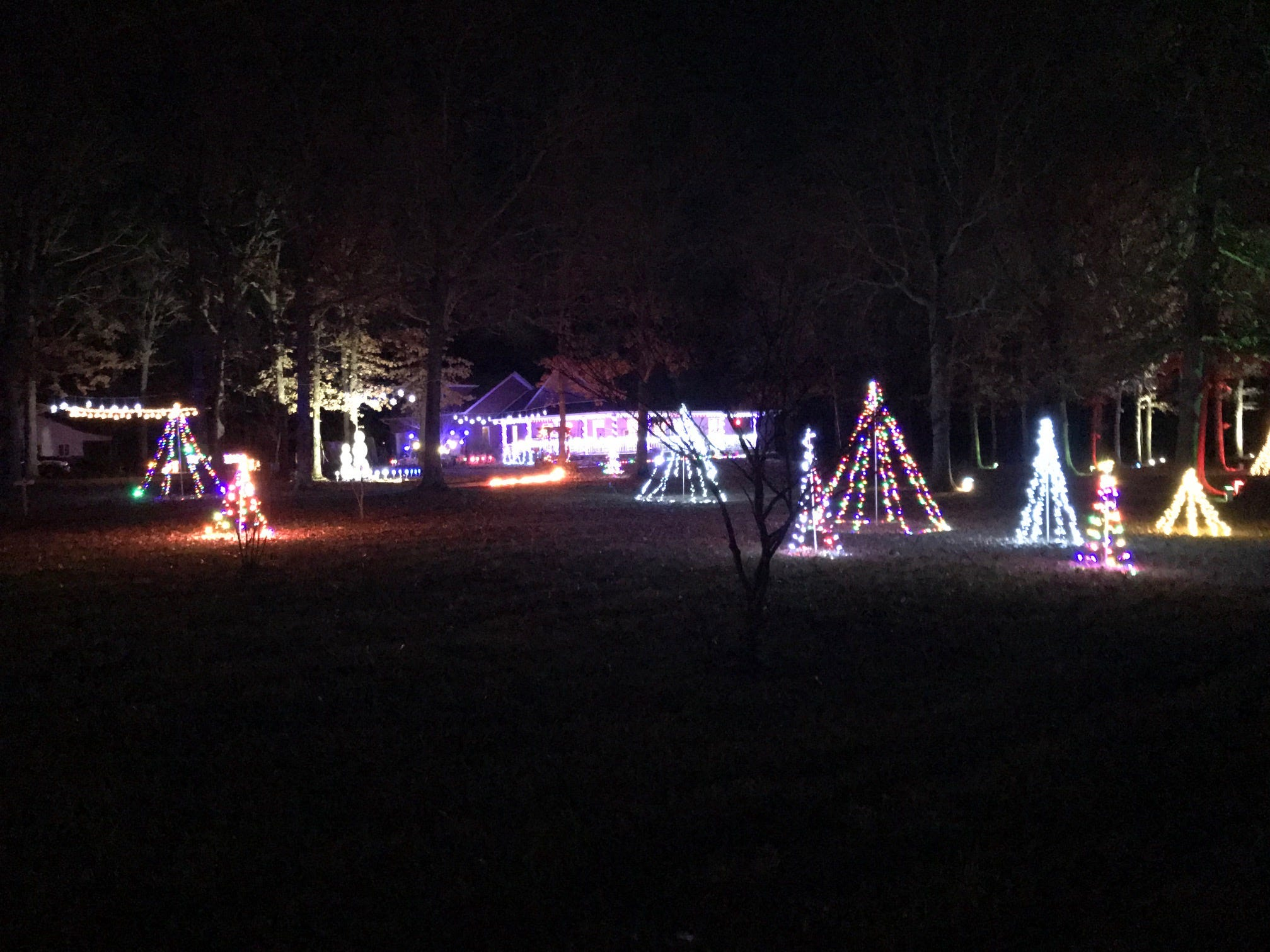2018 Christmas lights displays in the Ozarks