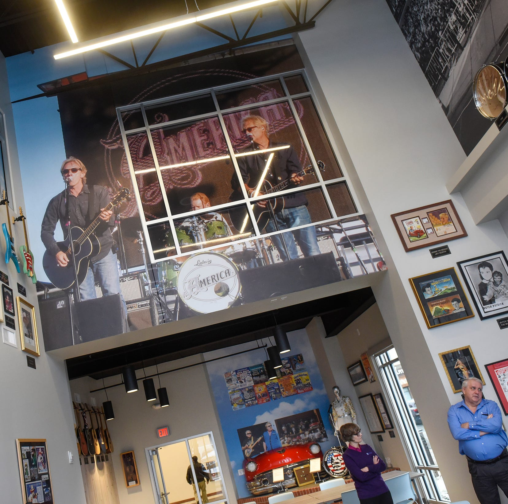 Liberty Bank's new St. Cloud headquarters makes room for decades of music memorabilia