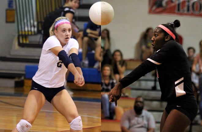 Maclay senior Addyson Lewis (4A) and Leon senior Makayla Washington (8A) were named their respective class's Florida Dairy Farmers Player of the Year in volleyball.