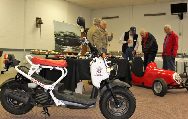The Tallahassee 100 Club sponsored an event Nov. 26 at the Elks Cub. It featured Drag Racing in Leon County, circa the 1960's. The event started with a car show and proceeded
