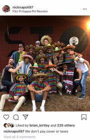This social media post attributed to a Florida State University student and Pi Kappa Phi member has raised protests of racism by student organizations.