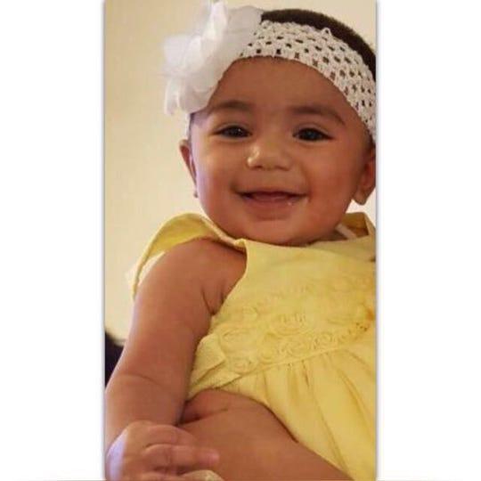 Two-year-old Zainab Mughal.