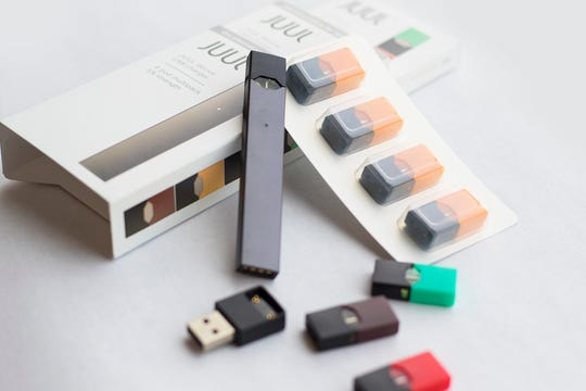 Juul is an electronic device that replicates the experience of smoking a cigarette.