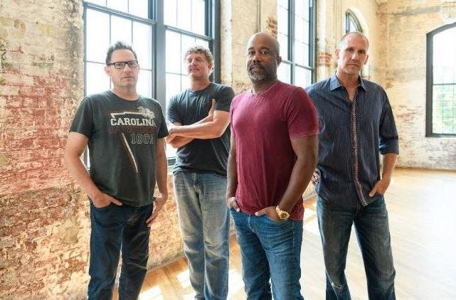Hootie & The Blowfish will reunite for a new album and tour 44 U.S. cities in 2019.