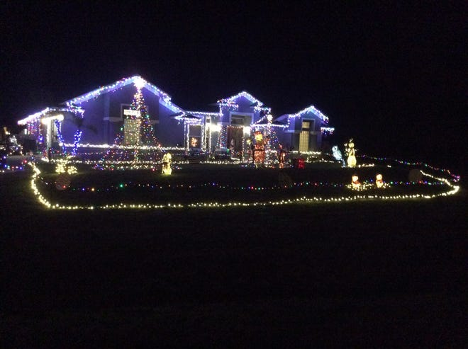 This house at 460 SW Rad Court received the most votes in the 2017 Best Lights in PSL contest.