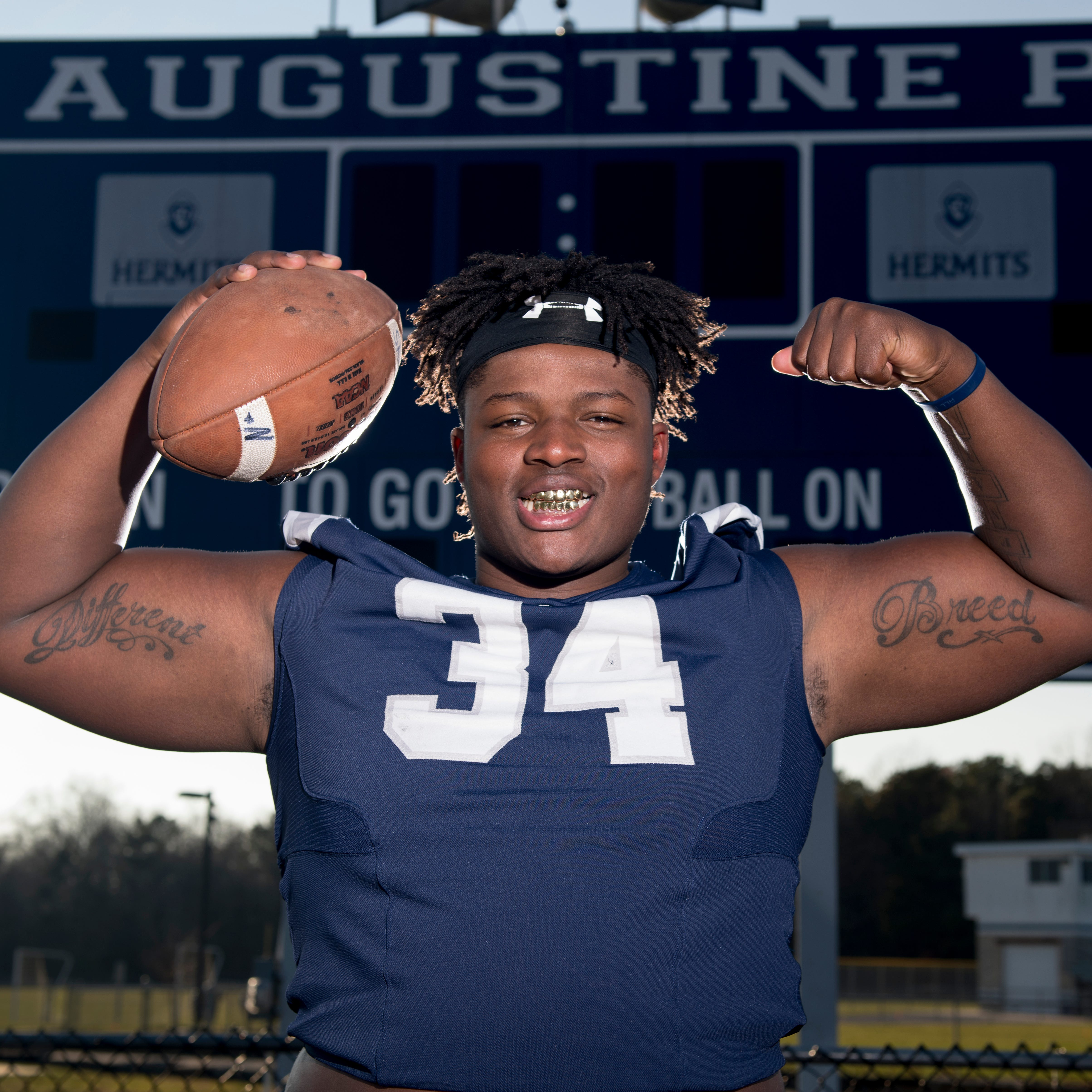 High school football: St. Augustine junior Isaiah Raikes is Player of the Year