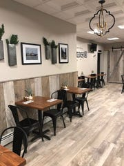 The interior of The Tasty Table, which opened Dec. 5 in Ossining.