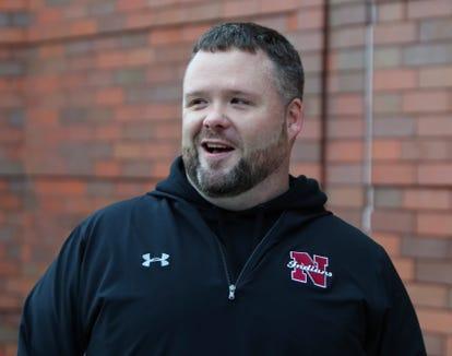 Nyack lacrosse head coach Justin Henry Dec. 3, 2018.