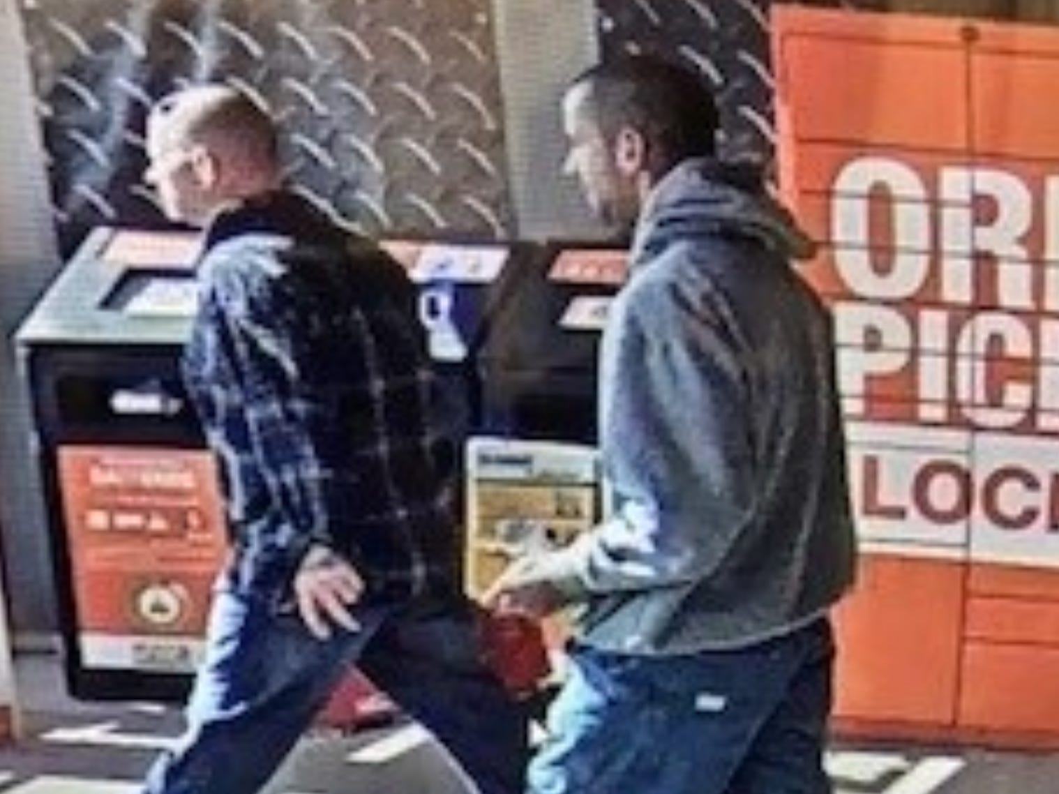 In October, two men stole multiple power tool sets from a local home improvement store, police said. They fled in what appeared to be a white Ford Ranger pick-up truck. The approximate value of the stolen property is $678.
