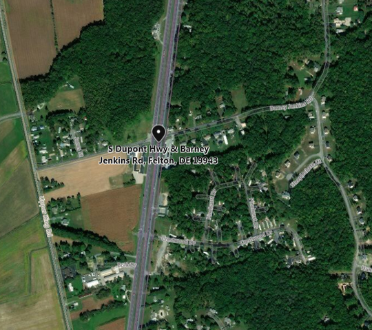 A pedestrian was killed in a crash on U.S. 13 south near Felton Sunday night, according to State Police.