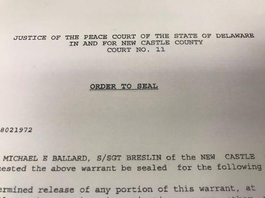Judge ordered Michael Ballard's records sealed.