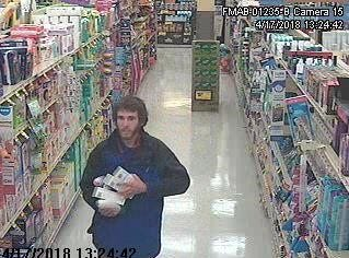 In January, March, and April of 2018 this man stole multiple health and beauty products from local grocery stores, according to Newark Police. The approximate value of the property stolen by the suspect is $403.