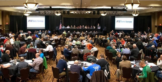 More than 240 delegates across the state are adamant that Farm Bureau have a seat at the table to discuss all options for the dairy industry, including a supply management system.
