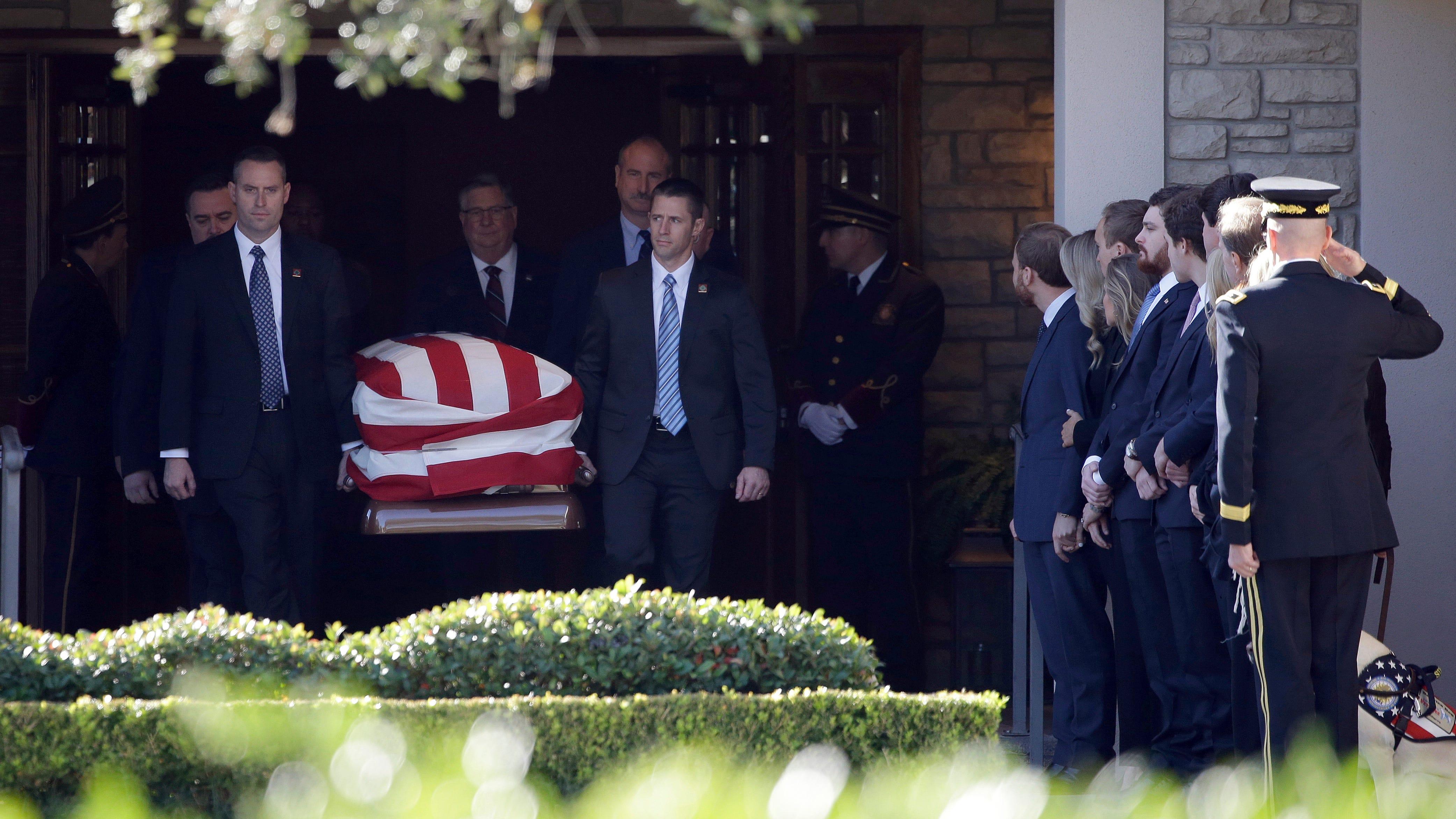 News Detail: Secret Service Finishes George H.W. Bush Security Detail