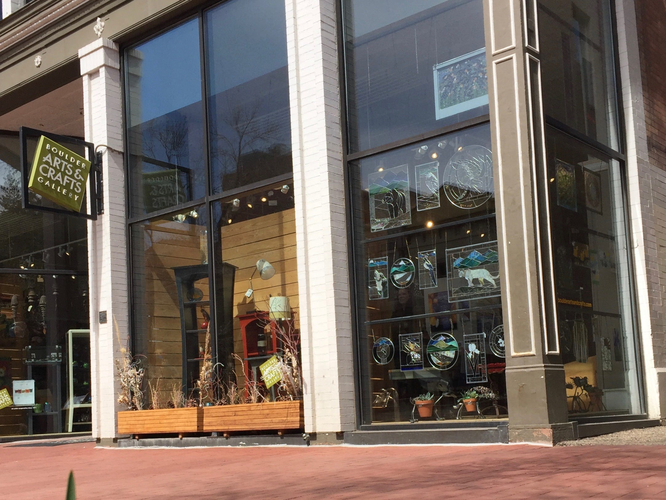 Located on the Pearl Street pedestrian mall, Boulder Arts and Crafts Gallery in Boulder, Colorado, specializes in works from Rocky Mountain makers.