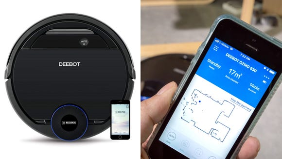 Knock out two of your chores with this robot vacuum (and mop!).