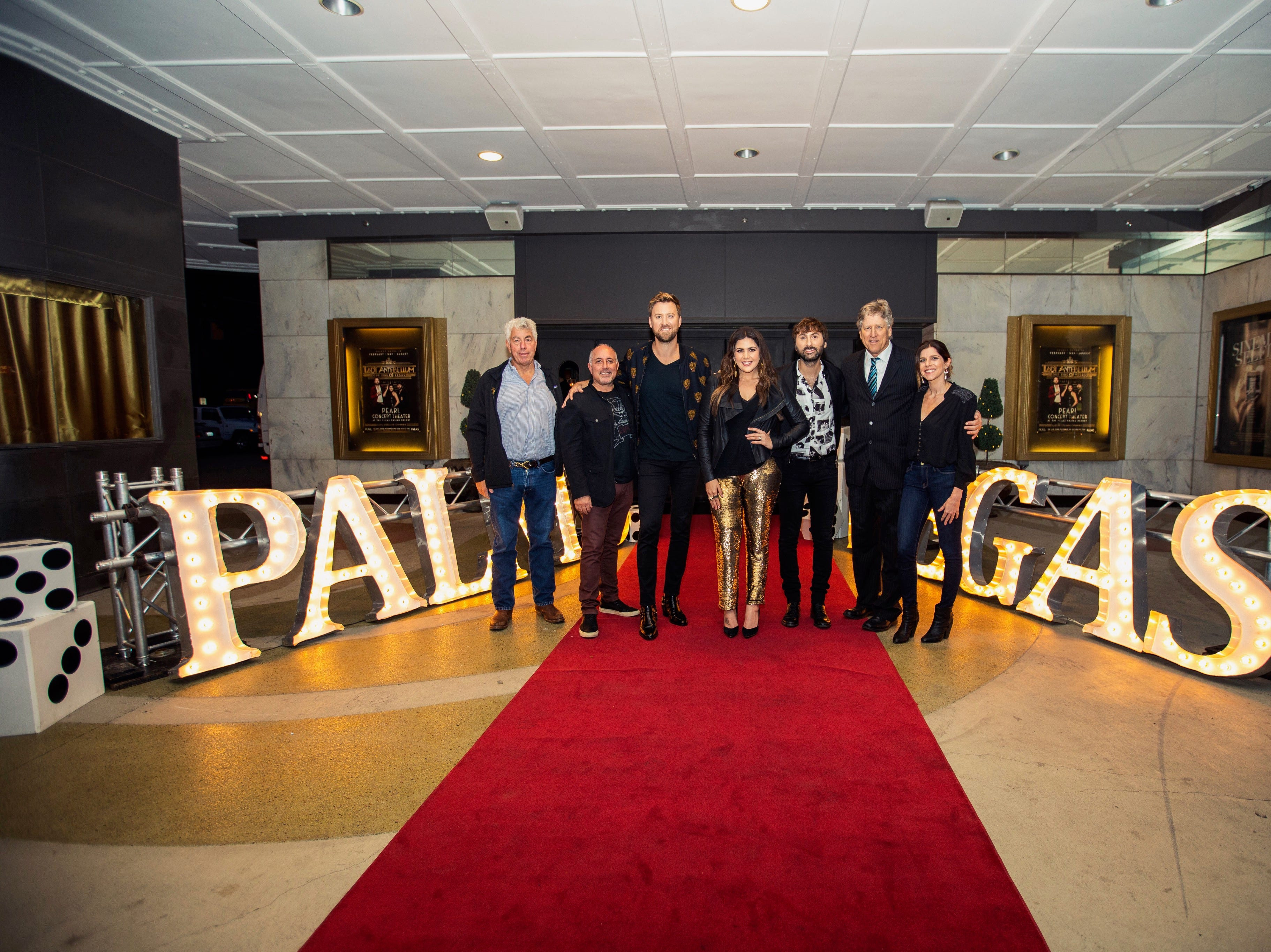 Country music trio Lady Antebellum announced their first Las Vegas residency. It begins in February 2019 at   The Palms Casino Resort.