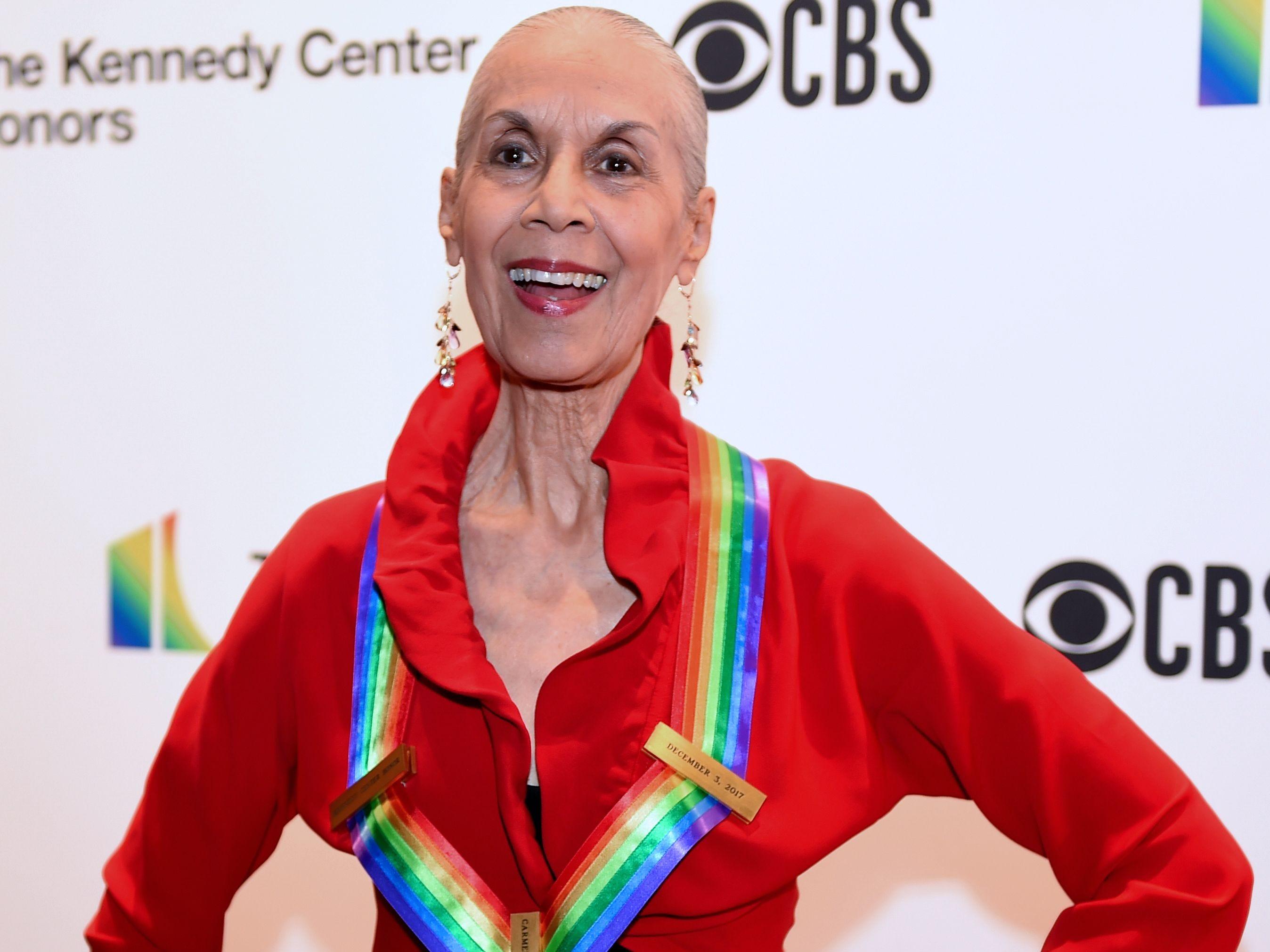 Actress/dancer Carmen de Lavallade, a 2017 Kennedy Center Honors recipient.
