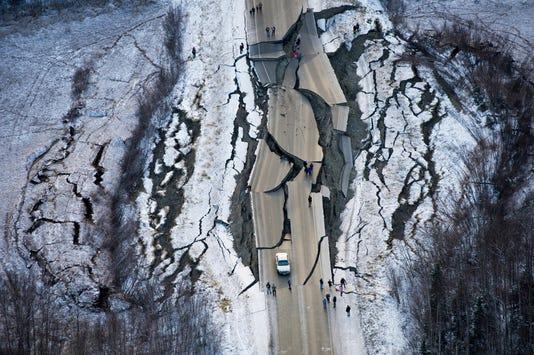 Ap Aptopix Earthquake Alaska A Usa Ak