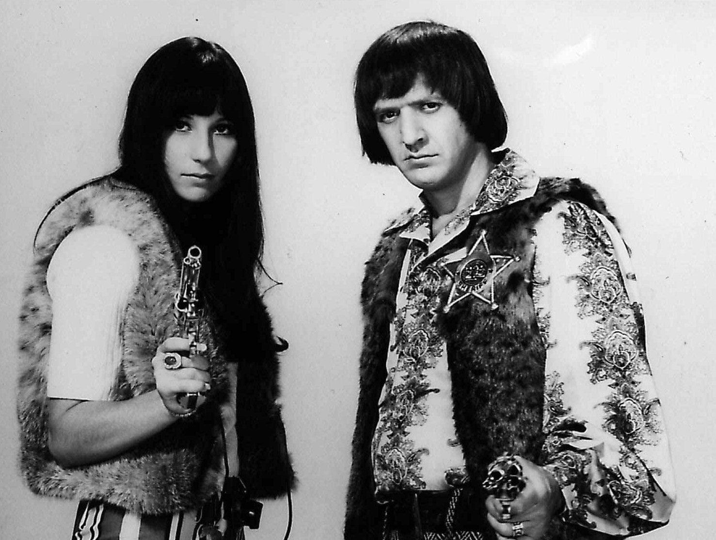 FILE --Sonny and Cher are shown in this May, 1966 file photo. Sonny Bono was killed in an apparent skiing accident in Lake Tahoe, Calif. on Monday, Jan. 5, 1998. He was 62. (AP Photo/file) ORG XMIT: NY133